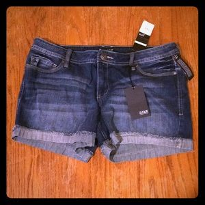 NWT denim jean shorts.